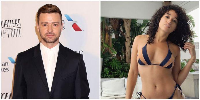 Justin Timberlake en Alisha Wainwright