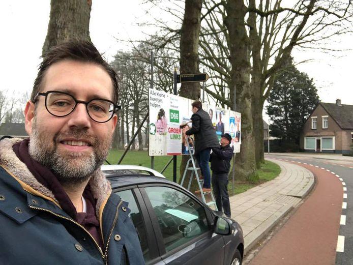 De leden van D66 Hellendoorn hebben de Nijverdaller Edo op den Dries opnieuw tot lijsttrekker gekozen.