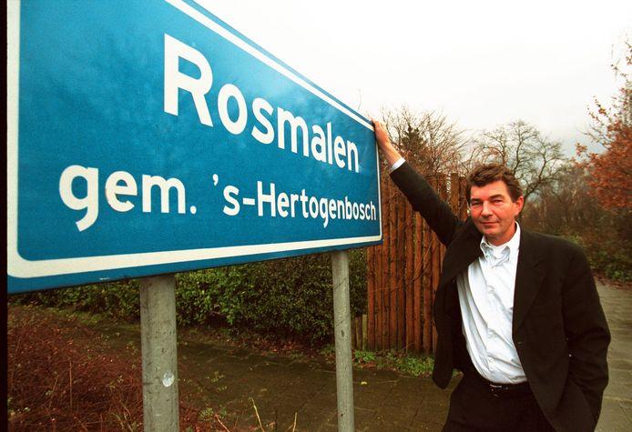 Herman van Dinther direct na de herindeling van Rosmalen.