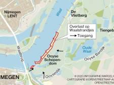 Boosheid over oproep om Waalstrand te mijden: 'Een no-go zone? Ga gewoon handhaven of sluit het gebied'