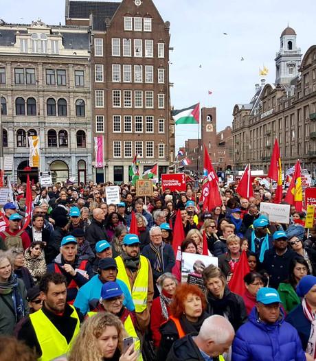 Mars tegen racisme trekt duizenden mensen
