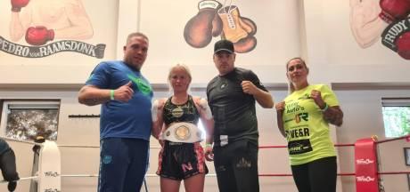 En dat is vijf: Bossche Roxanne Kivits grossiert al jaren in nationale (en internationale) kickboks-titels
