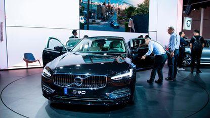 Volvo stuurt wagens uit Chinese fabriek per trein naar haven Zeebrugge