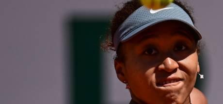 Naomi Osaka laat ook Wimbledon schieten