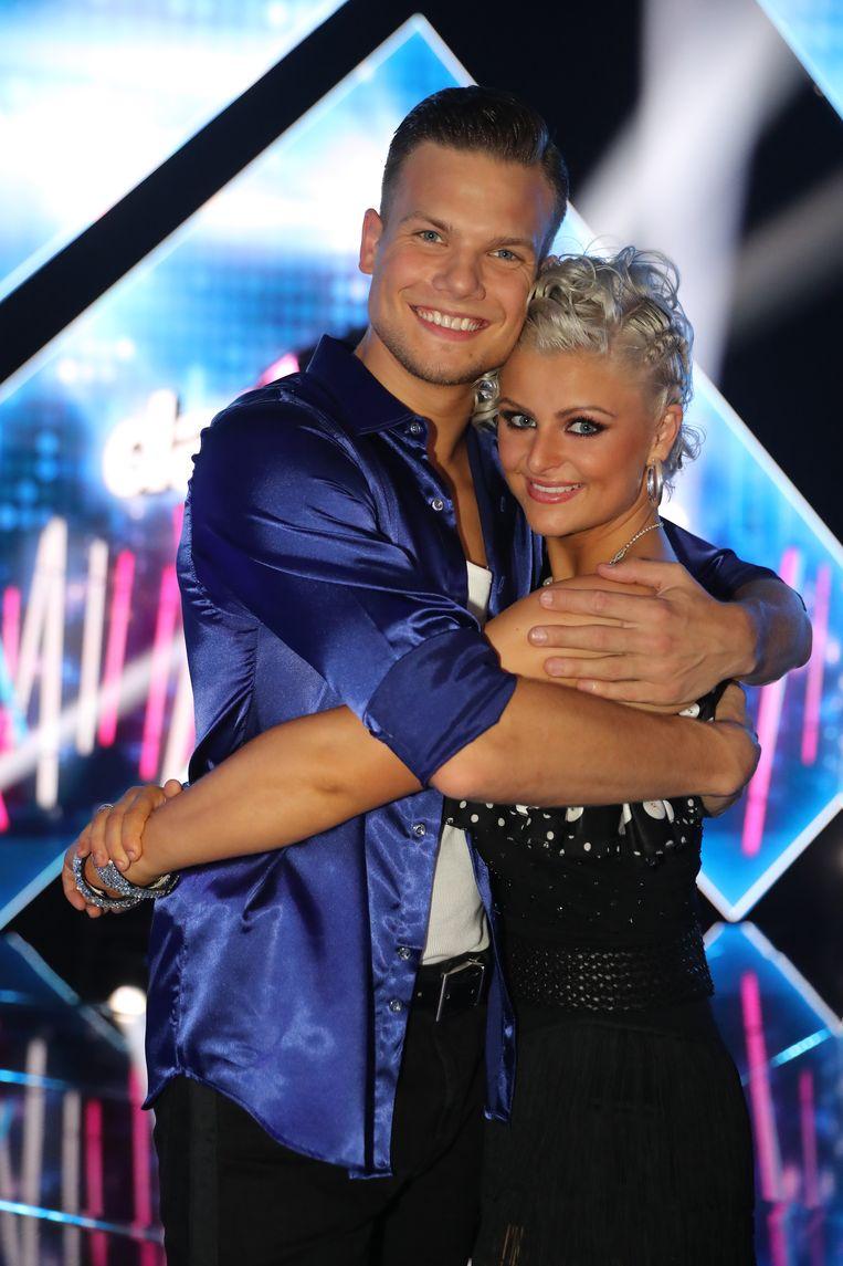 'Dancing With The Stars' - Frank Zegels met zijn partner Laura Zegels Jottay.