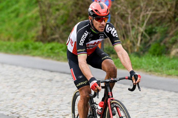 Philippe Gilbert a encore un an et demi de contrat avec Lotto-Soudal, après quoi il prendra une retraite bien méritée.