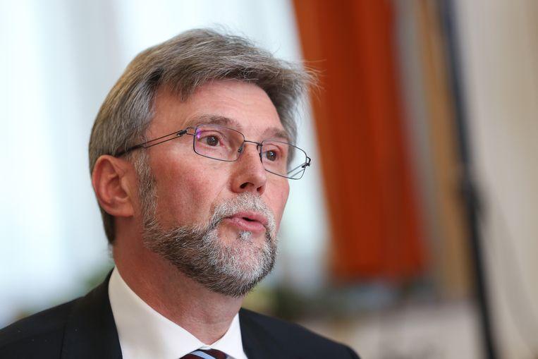 Ex-topman van de FOD Financiën Marc Monbaliu Beeld BELGA