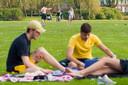 Het Zuiderpark. Tijdens de Bossche Zomer is het mogelijk om er te picknicken met gratis kleden.