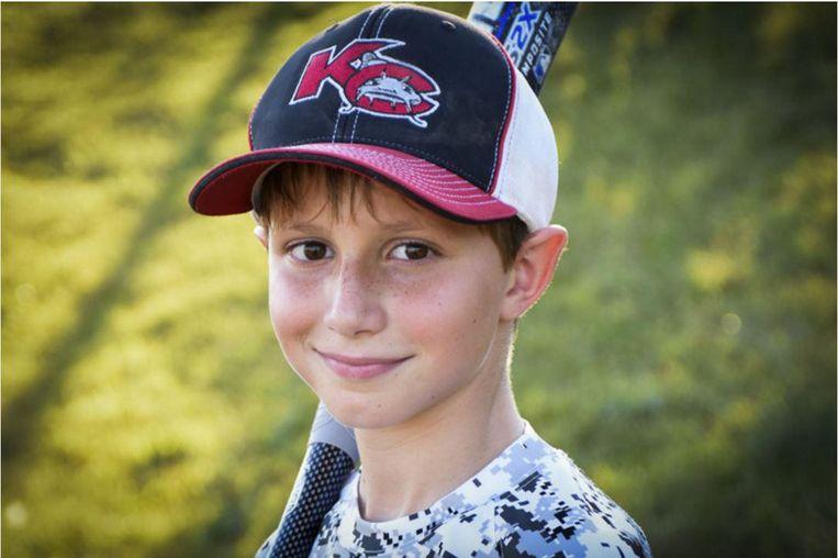 De tienjarige Caleb Schwab werd onthoofd tijdens zijn afdaling van de ruim 50 meter hoge Verruckt-glijbaan. Beeld AP