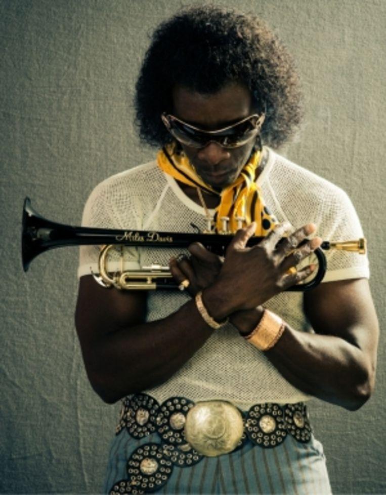 Miles Davis: 'Ik denk dat Prince als hij vrijt drums hoort en geen Ravel. Dus is hij geen blanke.' Beeld