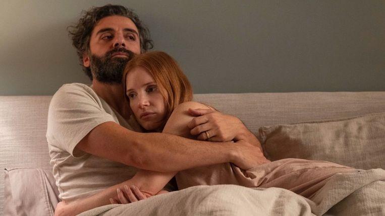 Huwelijksperikelen voor Oscar Isaac en Jessica Chastain. Beeld tmdb