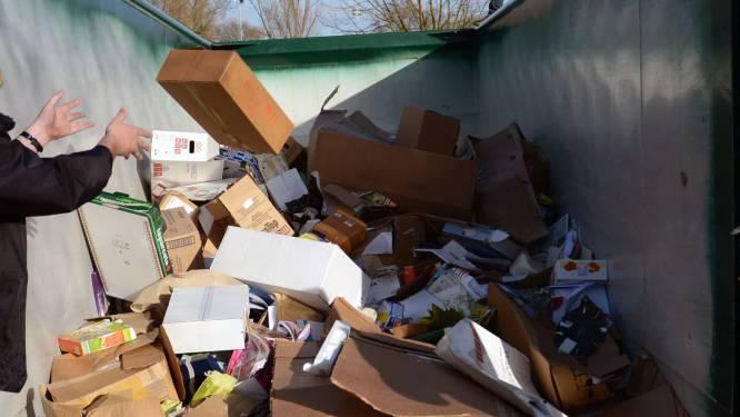 Papier en karton gratis naar het recyclagepark?