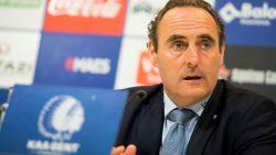 """Vanderhaeghe gaat vol voor tweede plaats met Gent: """"Hebben kwaliteiten om het tot goed einde te brengen"""""""