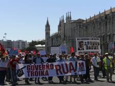 Au ralenti, le Portugal proteste contre l'austérité
