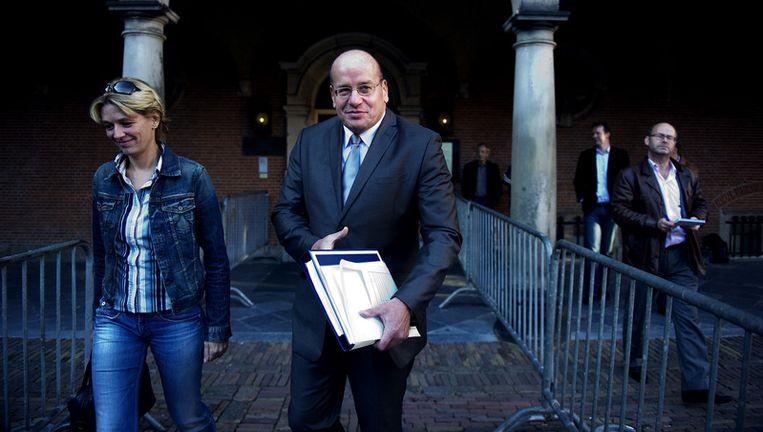 Fred Teeven wil het verlofbeleid van TBS'ers aangescherpt wordt. Foto ANP Beeld