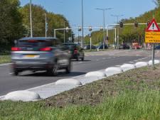 Hoe veilig zijn deze hobbels langs de IJsselallee in Zwolle?