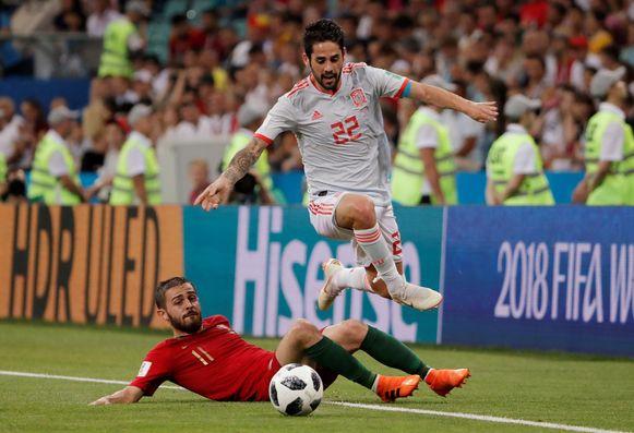 Isco gaf heel wat Portugezen vanavond het nakijken.