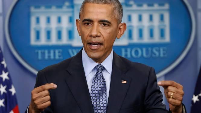 """Obama over inreisverbod: """"Amerikaanse waarden staan op het spel"""""""
