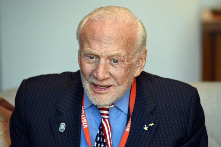Buzz Aldrin Beeld epa