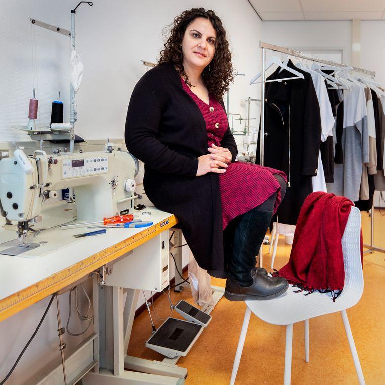 Shapol Majid in Utrecht bestiert een lingeriezaak in Irak voor en door vrouwen. Beeld Raymond Rutting