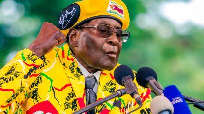 Mugabe aan de deur gezet bij eigen partij. Hij heeft tijd tot maandag om zelf op te stappen als president