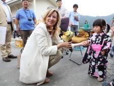 Valérie Trierweiler a reçu 4.000 euros pour la séance photo japonaise