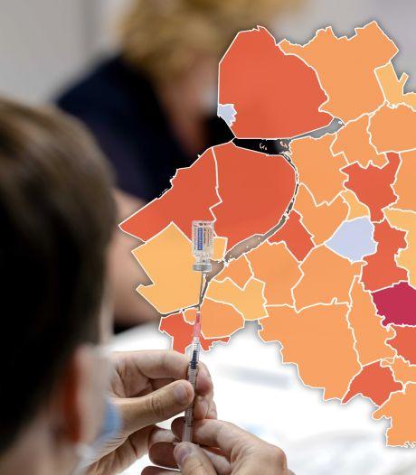 KAART | Aantal besmettingen in regio stijgt, Deventer blijft zorgenkindje