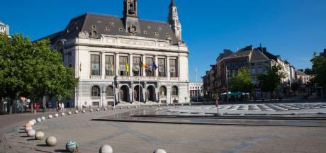 Action des syndicats au collège communal de Charleroi