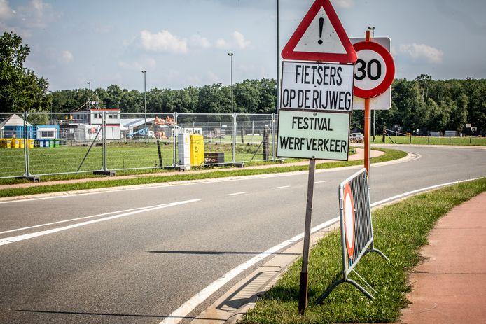 De opbouw van Pukkelpop 2021 was al deze week stopgezet.