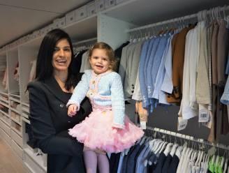 Dochtertje inspireert Tine (30) om eigen kledingzaak 'Little John & Petit Coco' op te richten