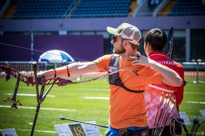 """Rick van der Ven vond een jaar zonder wedstrijden vooral saai. ,,Afstand houden is bij onze sport niet zo moeilijk."""""""