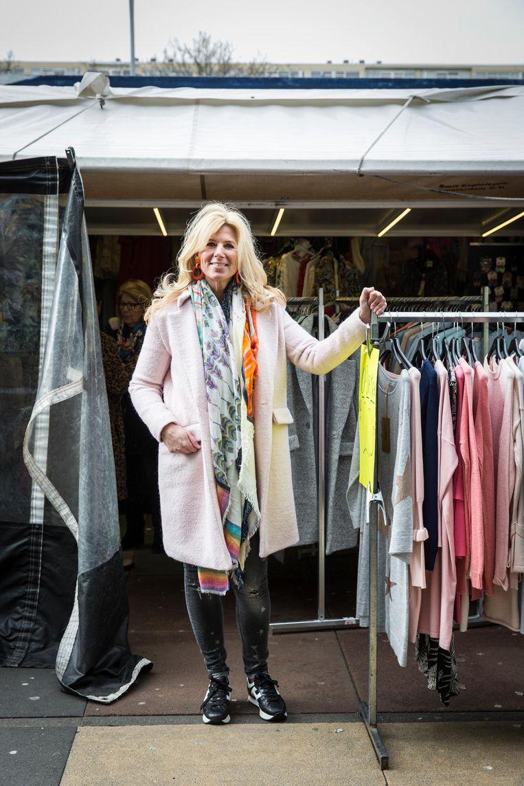 Annemarie Kuiper: 'Ik haal elke dag nieuwe handel, dat houdt het spannend' Beeld Dingena Mol