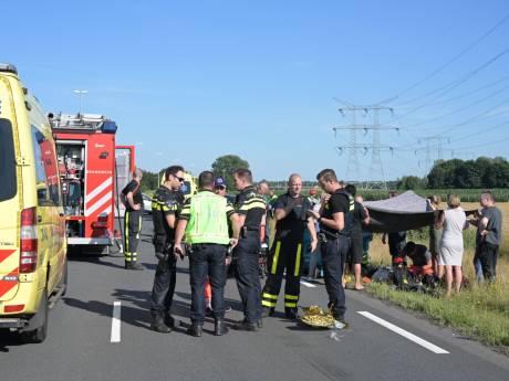 Dode bij ongeval op Burgemeester Bechtweg in Tilburg