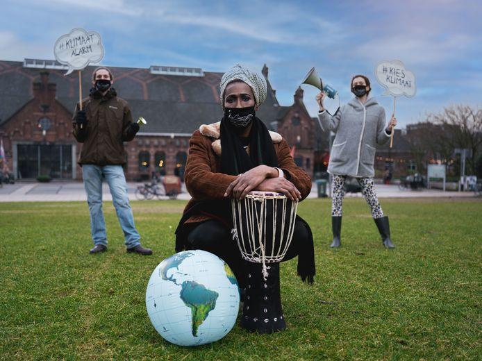 Ook in Nijmegen klinkt zondag een 'klimaatalarm', een gezamenlijke protestactie van milieuorganisaties.