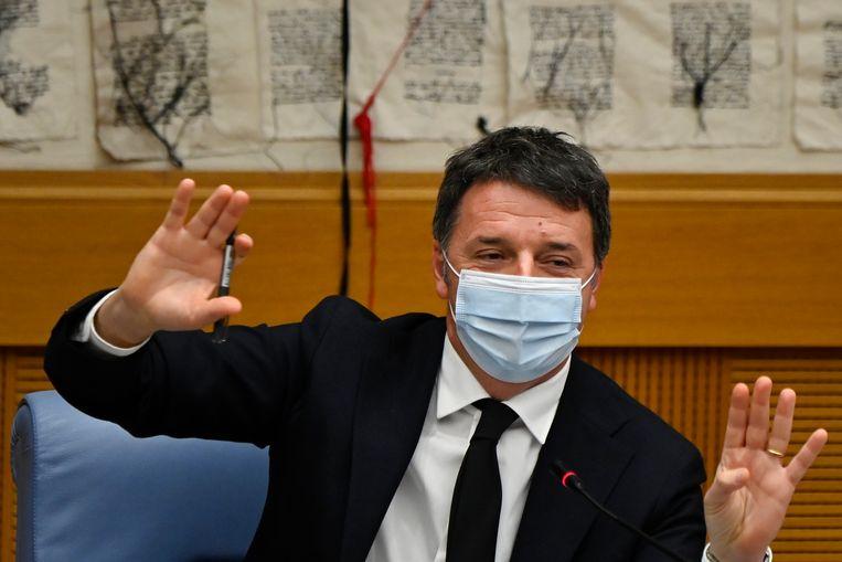 Ex-premier Matteo Renzi. Beeld AP