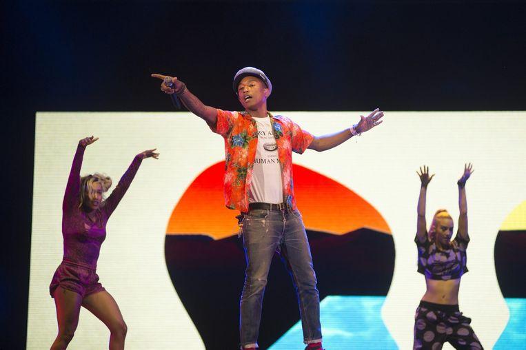 Pharrell Williams. Beeld alex vanhee