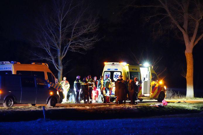 Het verdriet in Staphorst is groot nadat daar vrijdagavond een jong kind om het leven kwam bij een ongeluk.