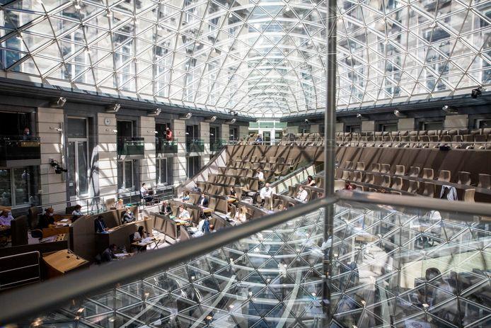 Le parlement flamand à Bruxelles
