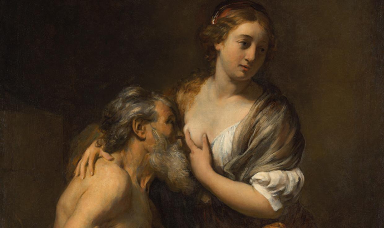 Cimon en Pero, Willem Drost (ca.1655) Beeld Rijksmuseum