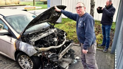 VIDEO. Verdachte van dubbele brandstichting meteen opgepakt, doordat hij trui liet liggen