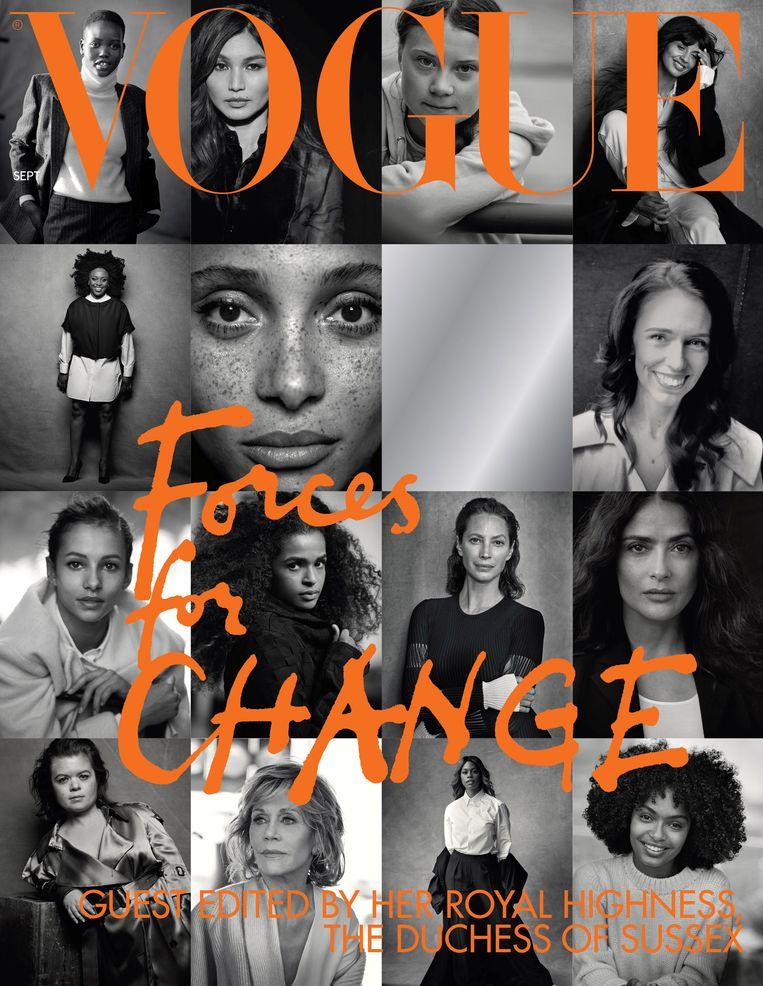 Cover van het septembernummer van Vogue. Beeld REUTERS