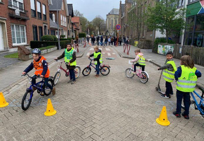 De verkeersweek in basisschool Mozaiek eindigde vrijdag.