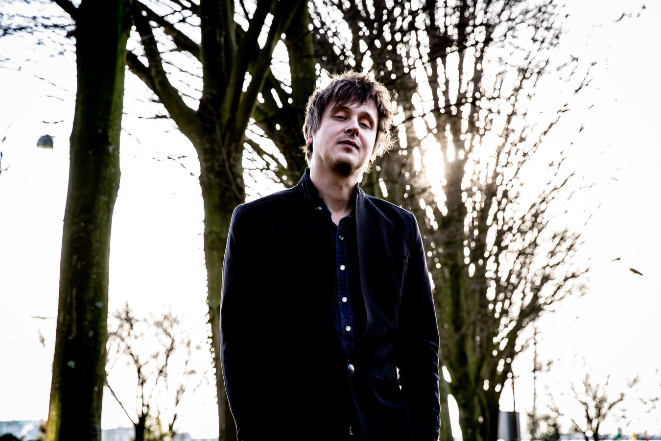 De Zwolse zanger en singer-songwriter Bertolf Lentink.