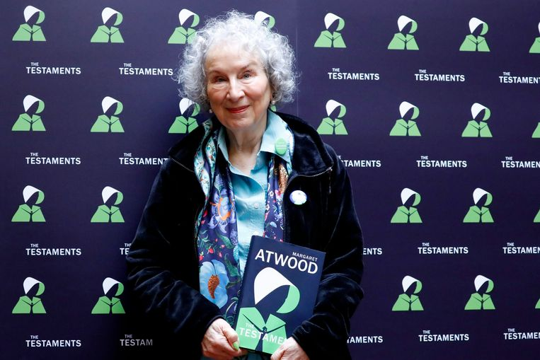Margaret Atwood. Beeld AFP