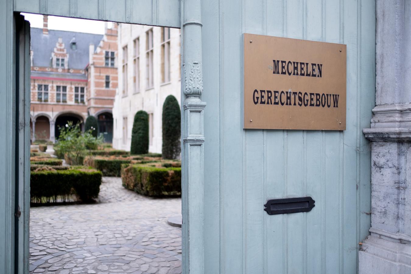 Het gerechtsgebouw in Mechelen.