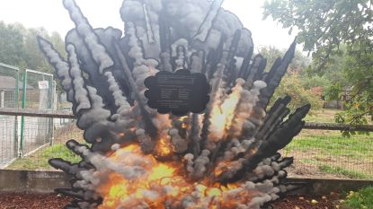 Monument voor slachtoffers Engels bombardement