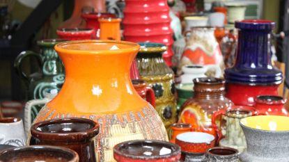 Vintage keramiekbeurs in De Corridor: spuuglelijk of opnieuw hip?