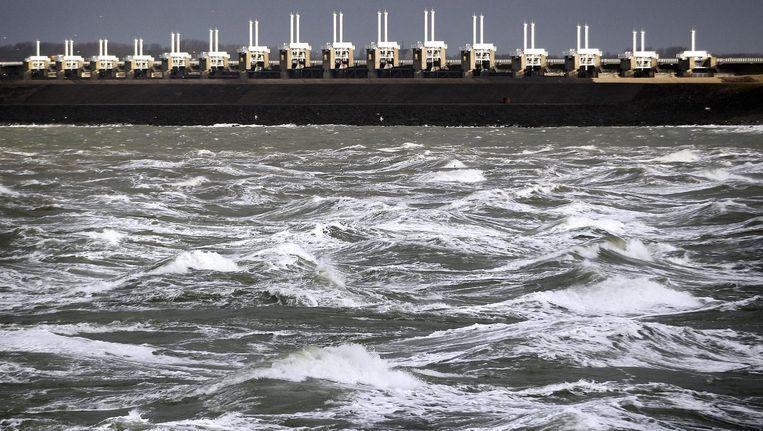 Nederland heeft zich, met zijn geschiedenis van overstromingen, gewapend tegen hoge waterstanden. Beeld anp