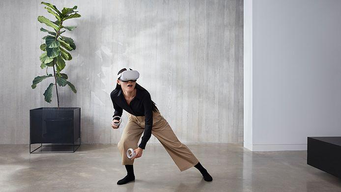 De Oculus Quest 2, een 'standalone' bril.