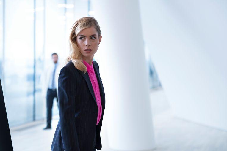 Actrice Hannah Hoekstra.